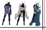 Adoptables-Outfit Set 13 CLOSED by HardyDytonia