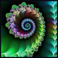 Spiral Green by mdichow