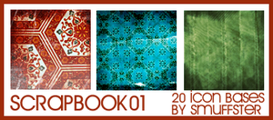 Scrapbook textures by smuffster