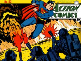 Action Comics 53 by Superman8193