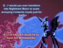 .: Answer #2:. by XXxPrincess-LunaxXX