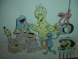 Sesame Street by Will1885
