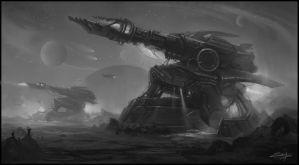 Ion cannon by Zoriy