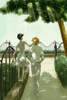 Ichiruki: Sunday in the Park by luculentquark