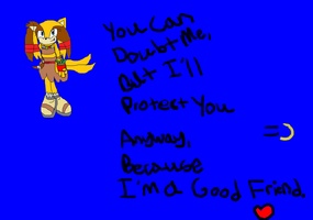 You Can Doubt Me But I'll Protect You Anyway by DrEggmanSticksFan101