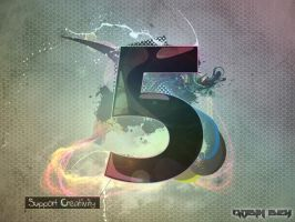 Support Creativity - CS5 by RobinBey