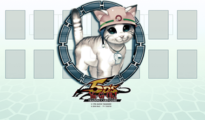 Yugioh Rescue Cat Deck Mat by Spectral-Joker