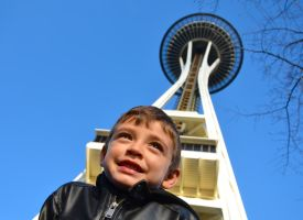 Space needle by ShannonCPhotography
