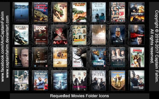 Requested Movies Folder Icons - Code #70000006 by CaptainFahim
