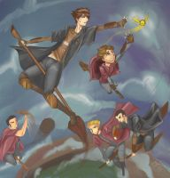Catch the Snitch by LittleNightingale