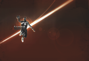 Lebron James by PD21