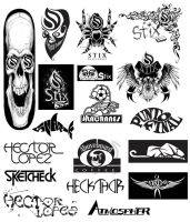 Logos and Graphics by heckthor