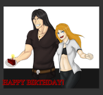 Happy Birthday little-gaara-5! by InuMeister