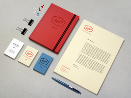 Identity / Branding Mock-Up by GraphicBurger