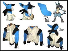 Lucario Hoodie by CassiniCloset