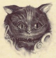 Cheshire by TimColemanART