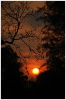 Frame of the setting sun by music-of-the-night99