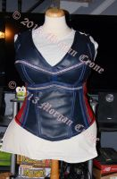 Lady Thor Corset Top 1 by MorganCrone