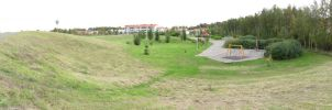 Hill and park Panorama by Morbidi