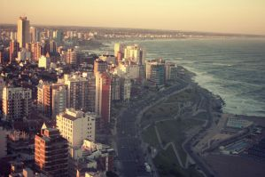 Mar del Plata 8 PM by carulina