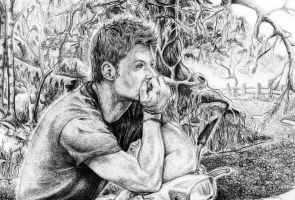 Dean Winchester Chill Time by Zinfer