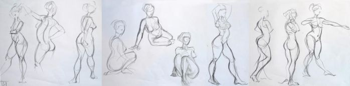 Life Drawing Novembre 2015 by Gizmoatwork