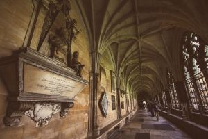 Westminster Abbey Cloister by andyietok