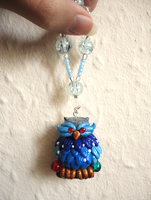 Frost Owl Tree Decoration by Lucky101212