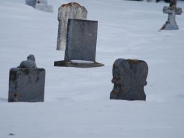 Graves Partly Buried by KalikaMarie