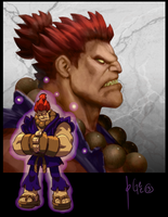 AKUMA JOGee Collabo by D-Gee