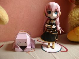 Luka and Tako Luka Papermodels:Special Shots 1 by MarcGo26