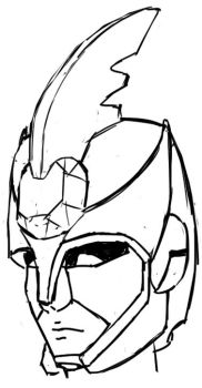 Boostbite Helmet Sketch by Mysticom
