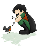 Robin Song by Pankster