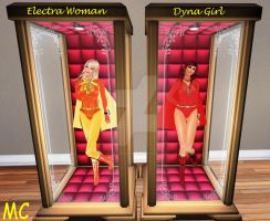 Electra Dolls On Display by The-Mind-Controller