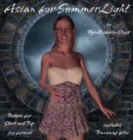 Asian for SummerLight by PyroNsanity-Stock