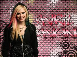 Avril Lavigne Graffiti by thelfie