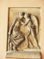 Cupid and Mother by morana-stock