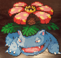 #003 Venusaur perler beads by theunderminor