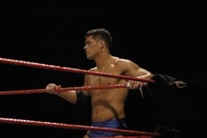 Cody waiting for a tag by tribechick13