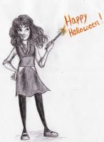 Hermione - Happy Halloween! by appleshiner