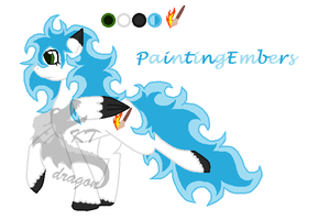 Ponysona PaintingEmbers by KTdragon