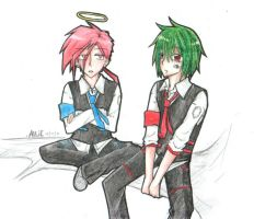 HHA: Russ and Yohan by allie052