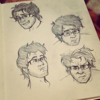 Expression Practice 1: Markiplier by irukaluvsdumplings