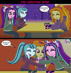 The Christmas spirit -comic by Fluttershy626