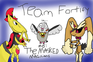 Mission 6 Cover - The Masked Magicians by Joltimeon