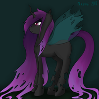 Amethyst the Changeling by NasuNi
