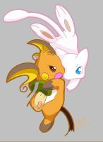 Raichu its My Turn by Shineymagic