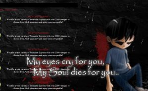 Friendster Layouts: My Eyes by remygraphics