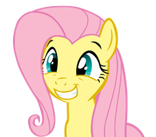 Fluttershy Squee by officer-rabbit