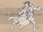 Superman DC Comics Warner Bros by victorgrafico